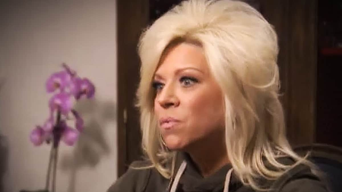 Theresa Caputo is back on Long Island Medium, and its a celebrity filled emotional rollercoaster. Pic credit: TLC