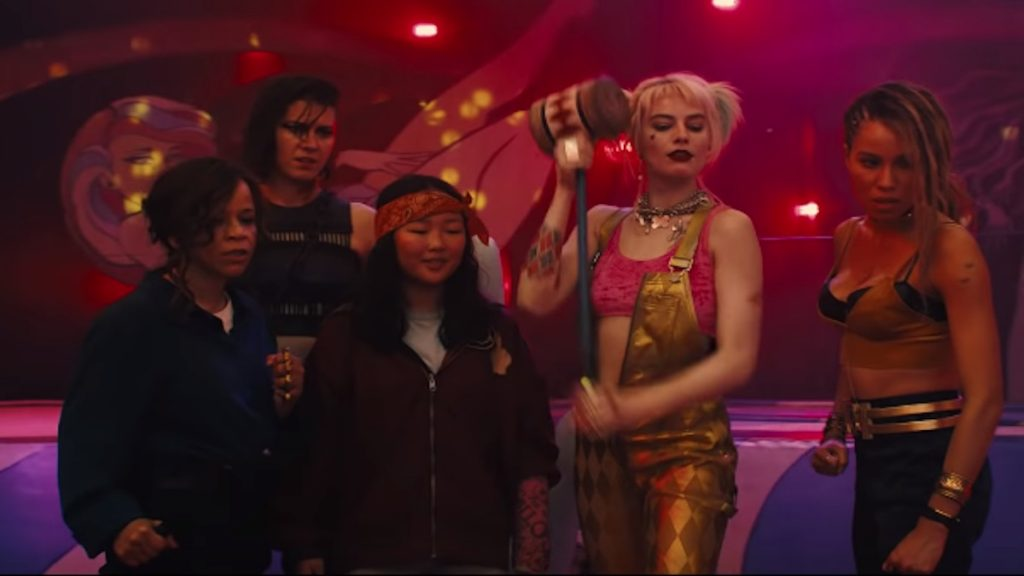 birds of prey features harley quinn and a new supporting crew