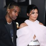 travis scott and kylie jenner at 61st annual grammy awards in california