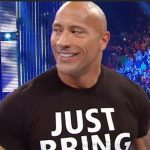 dwayne the rock johnson on first ever smackdown on fox