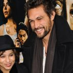 Jason Momoa and Zoe Kravitz at 'Bullet To The Head' World Premiere