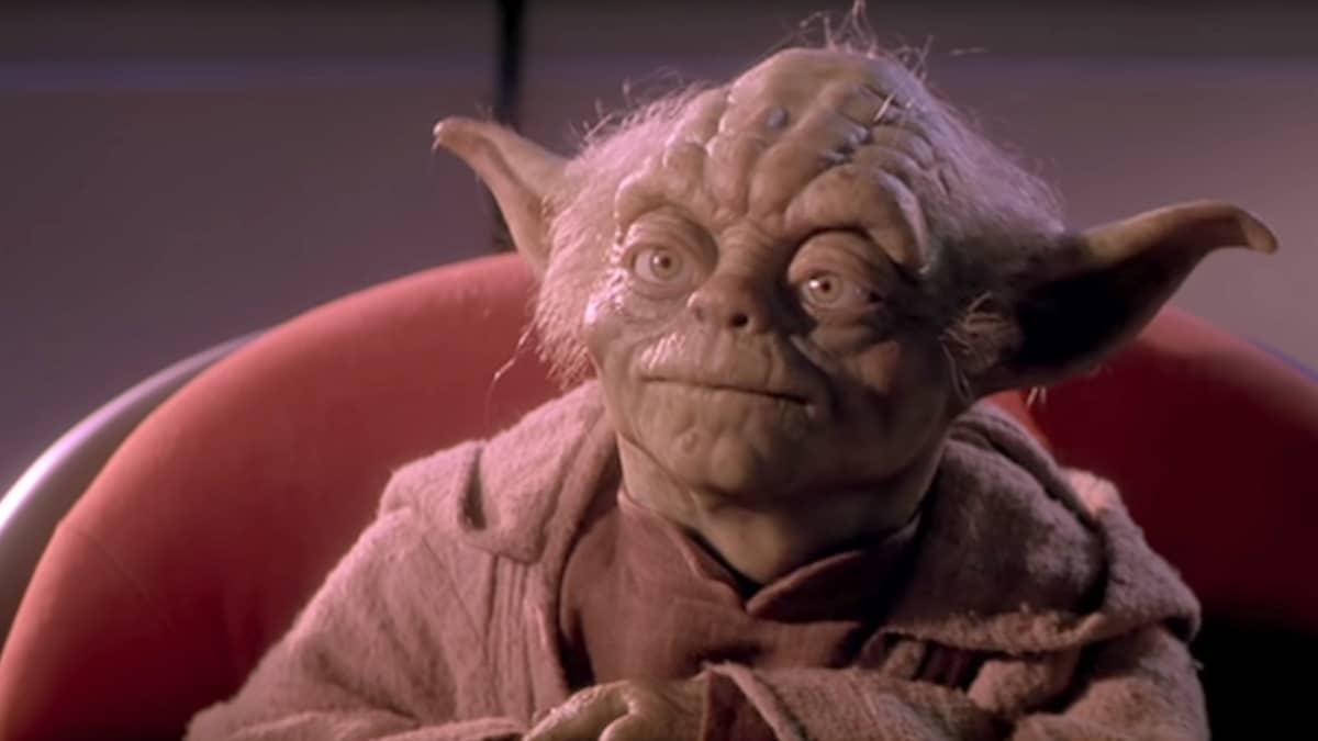 Yoda from The Phantom Menace