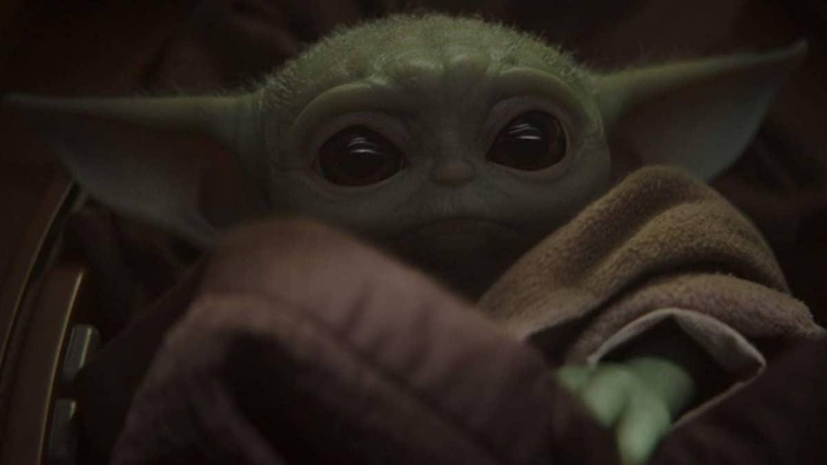 Baby Yoda as seen on The Mandalorian
