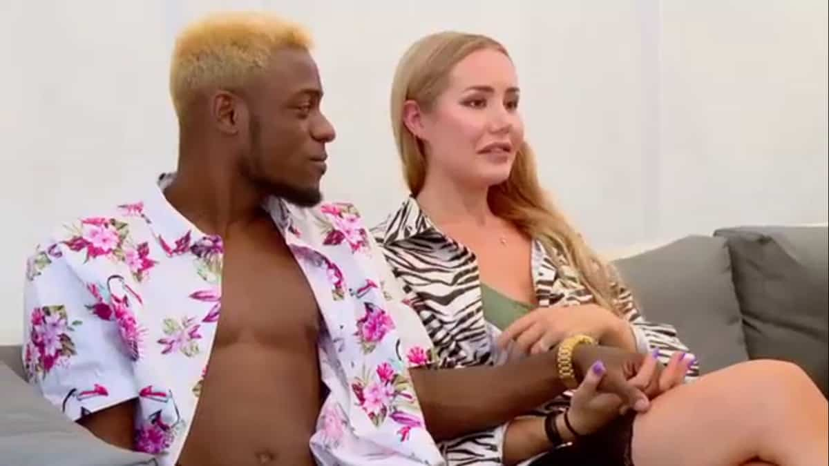 Blake and Jasmin together on 90 Day Fiance