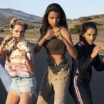 Kristen Stewart, Ella Balinska and Naomi Scott in Charlie's Angels