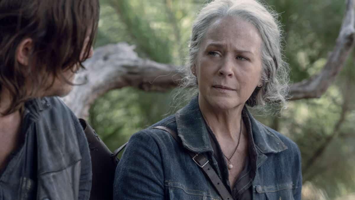 Melissa McBride as Carol Peletier, Norman Reedus as Daryl Dixon