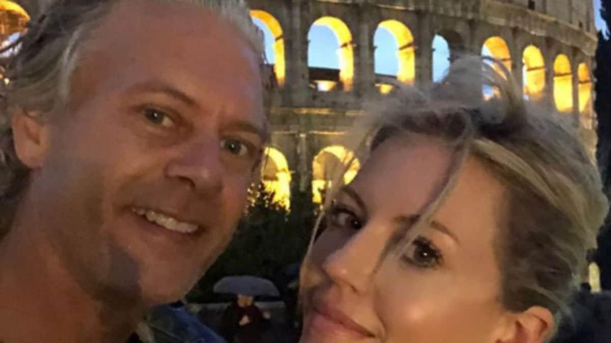 David Beador and Lesley Cook selfie
