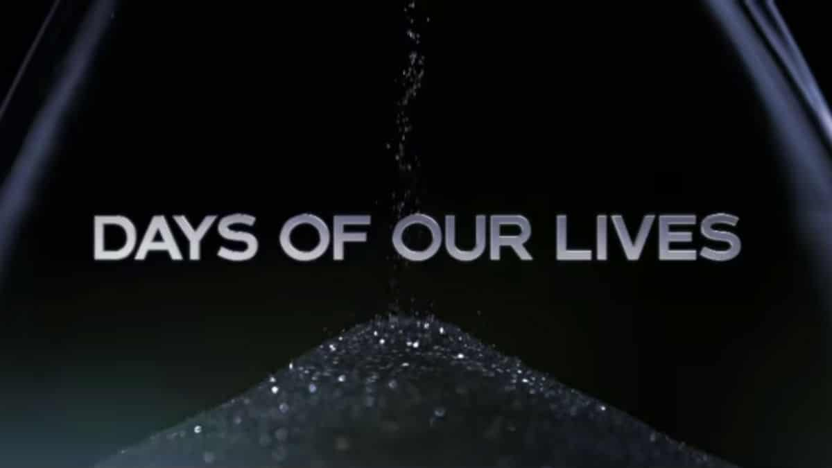 Days of our Lives flash forward trailer opening.