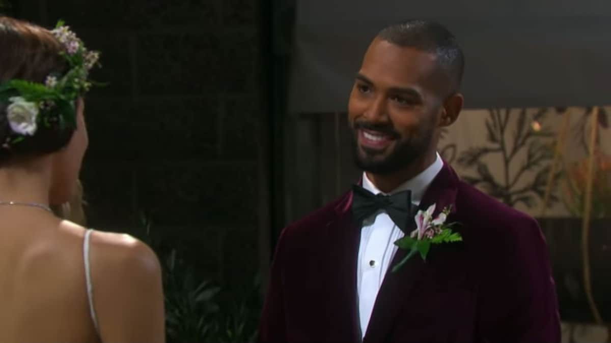 Lamon Archey as Eli on Days of our Lives.