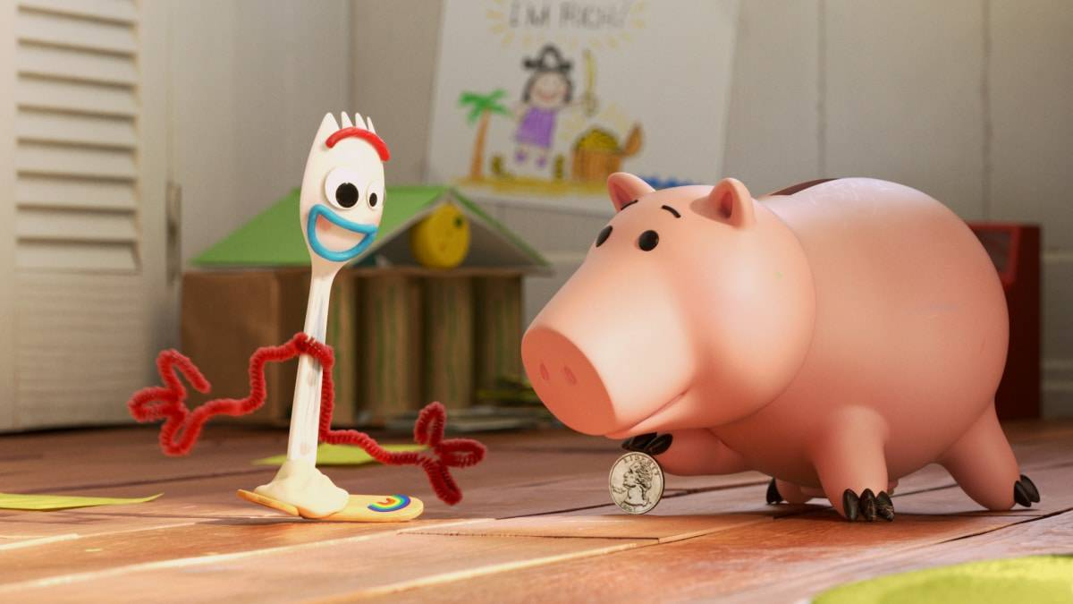 Forky and Hamm