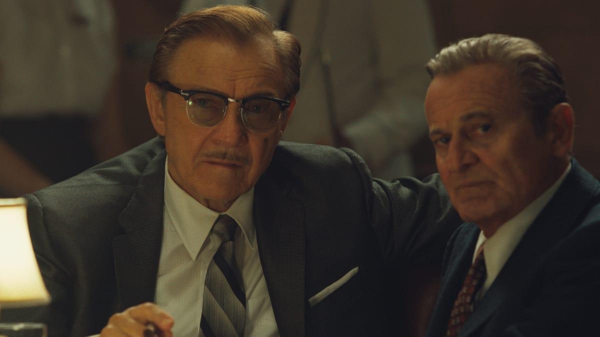 Harvey Keitel and Joe Pesci in The Irishman