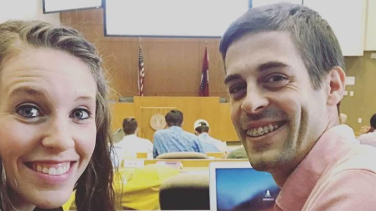 Jill Duggar and Derick Dillard selfie