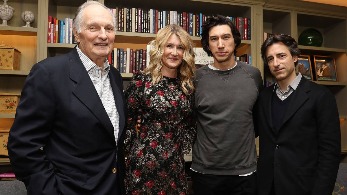 Monsters and Critics attended the NYC screening of Marriage Story with the cast Laura Dern, Adam Driver, Alan Alda and the writer/director Noah Baumbach. Pic credit: Netflix.