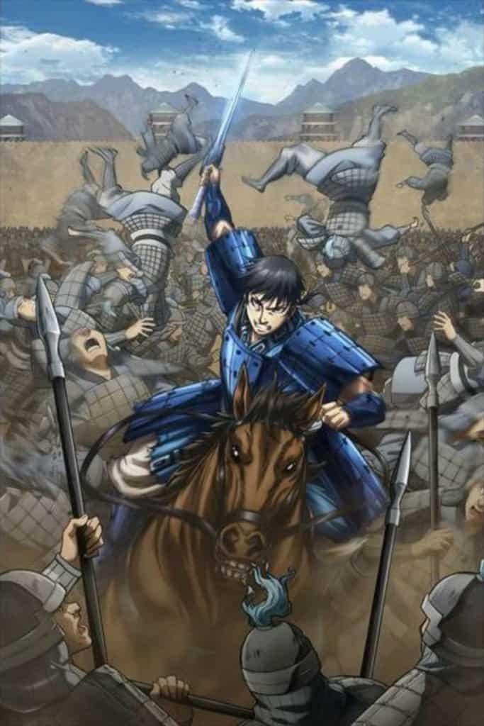 Kingdom Season 3 Anime Key Visual