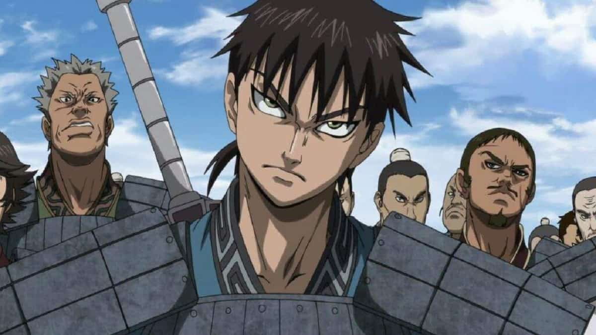 Xin from the anime series Kingdom