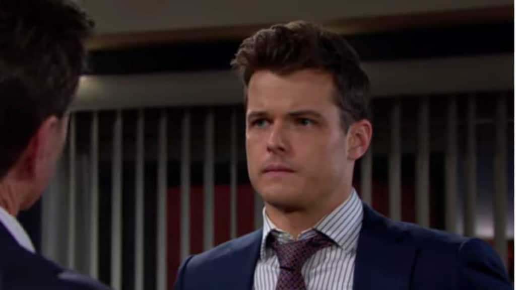 Michael Mealor as Kyle on The Young and the Restless.