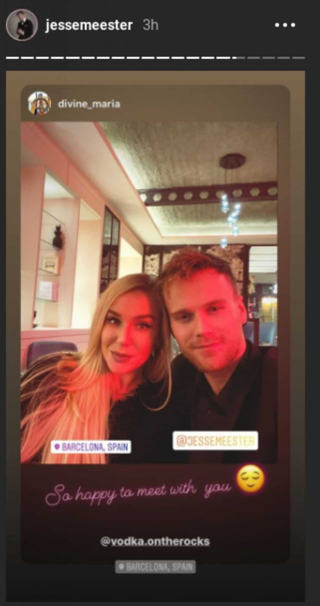 Jesse Meester shares a photo with Caesar's Maria