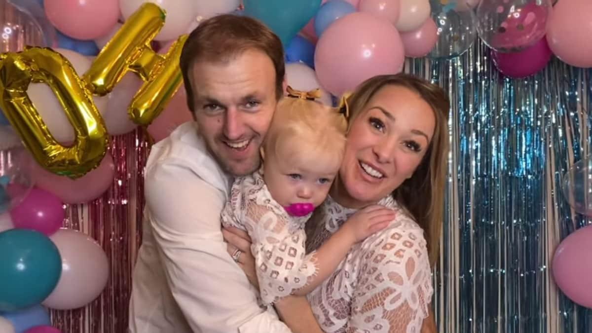 Doug, Jamie, and baby Henley