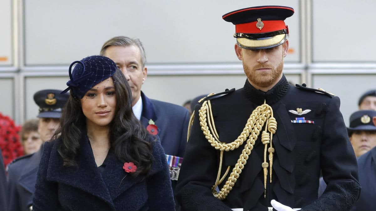 Prince Harry and Meghan Markle share new photo of baby Archie.