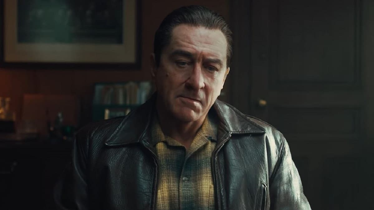 Robert De Niro in The Irishman