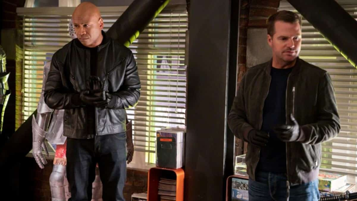 Sam And Callen On NCIS