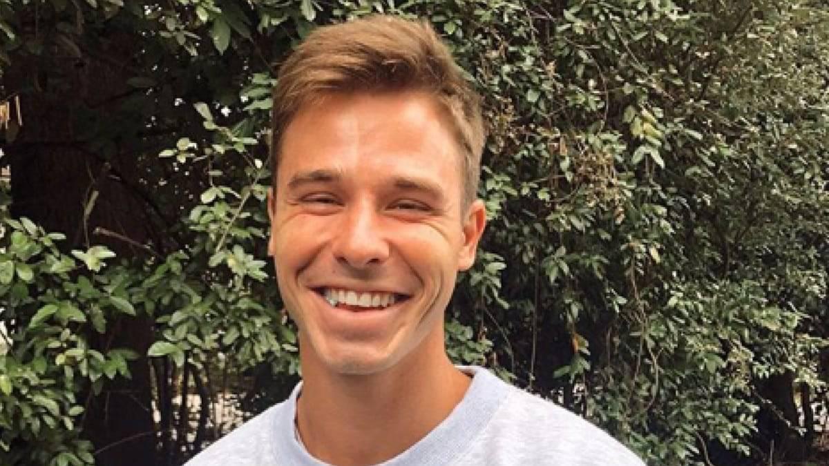 Christian Huff posing on Instagram
