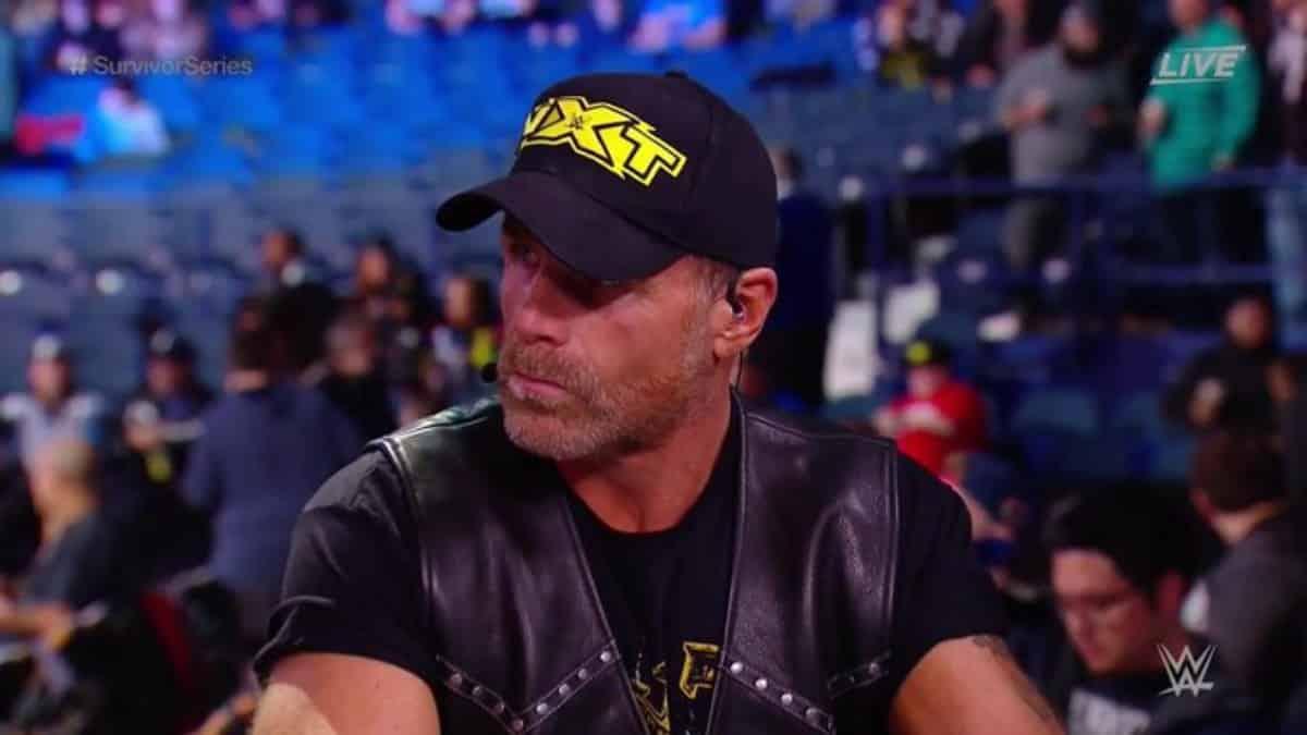 Shawn Michaels reveals WWE NXT team for Survivor Series three-way