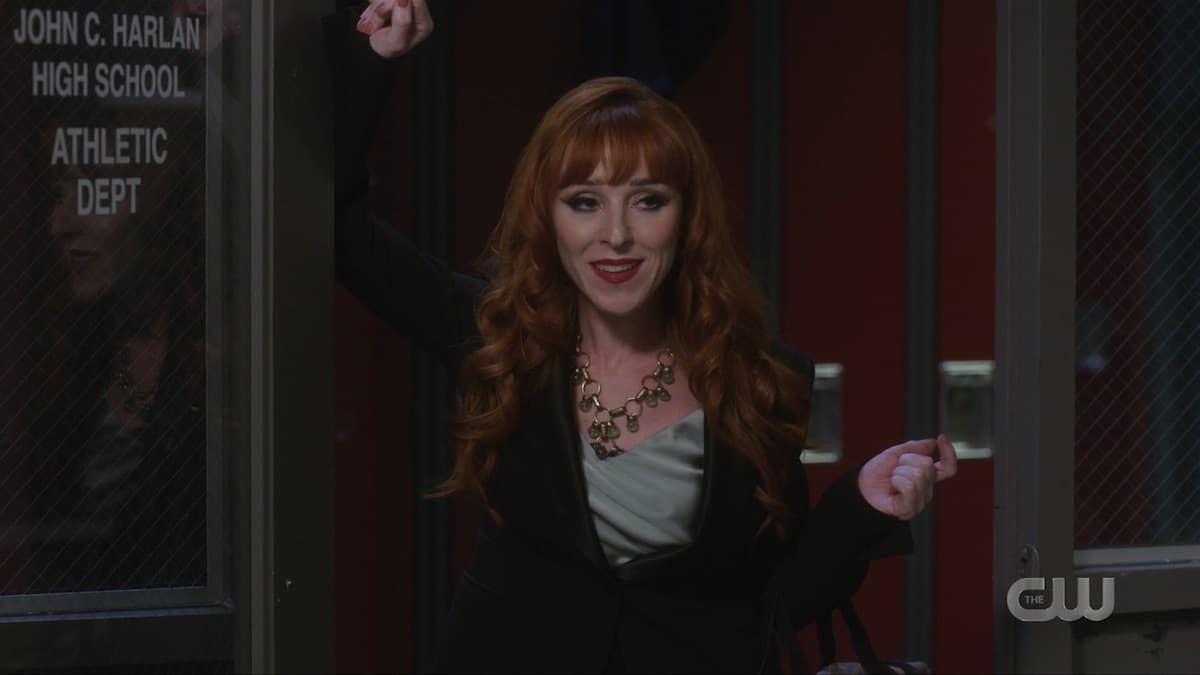 Rowena MacLeod arrives to help the Winchesters in Supernatural season 15. Pic Credit: the CW