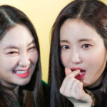 Taeha and Yeonwoo of Momoland