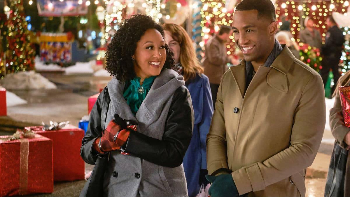 Tamera Mowry-Housley teases nw Hallmark Christmas movie.