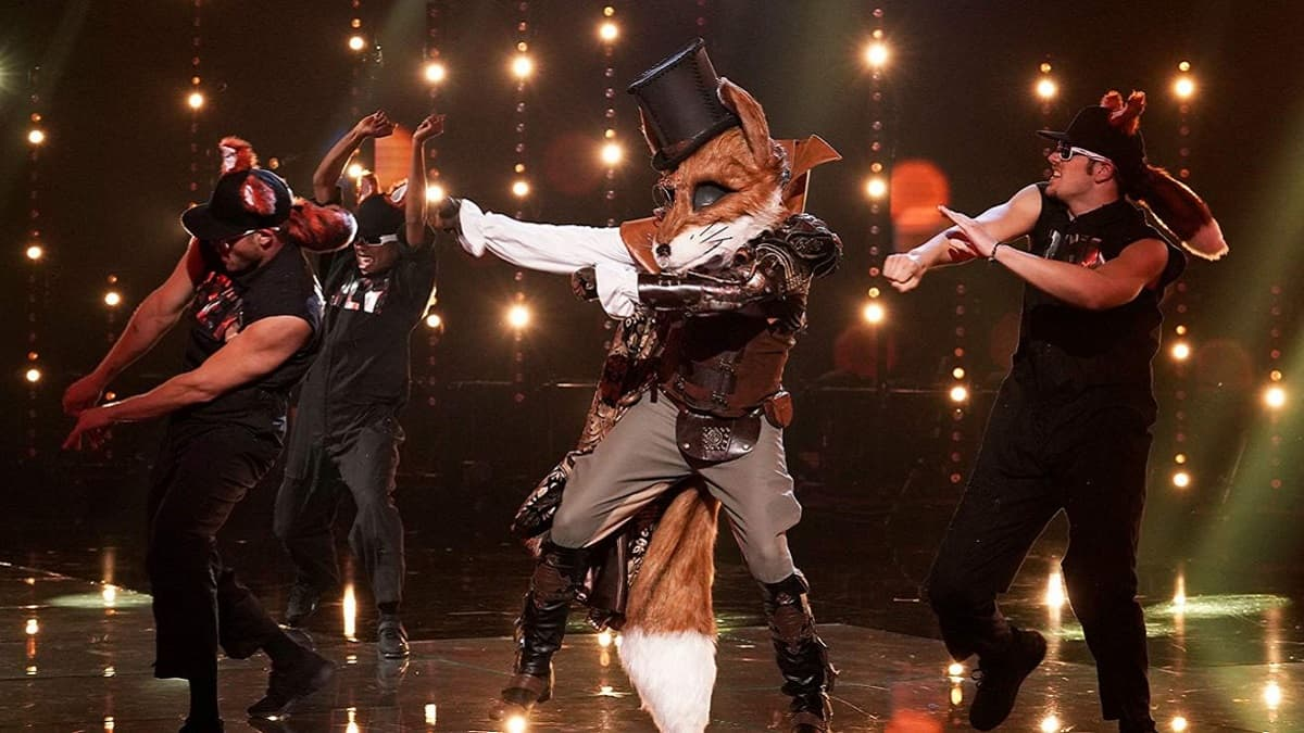 The Fox on The Masked Singer