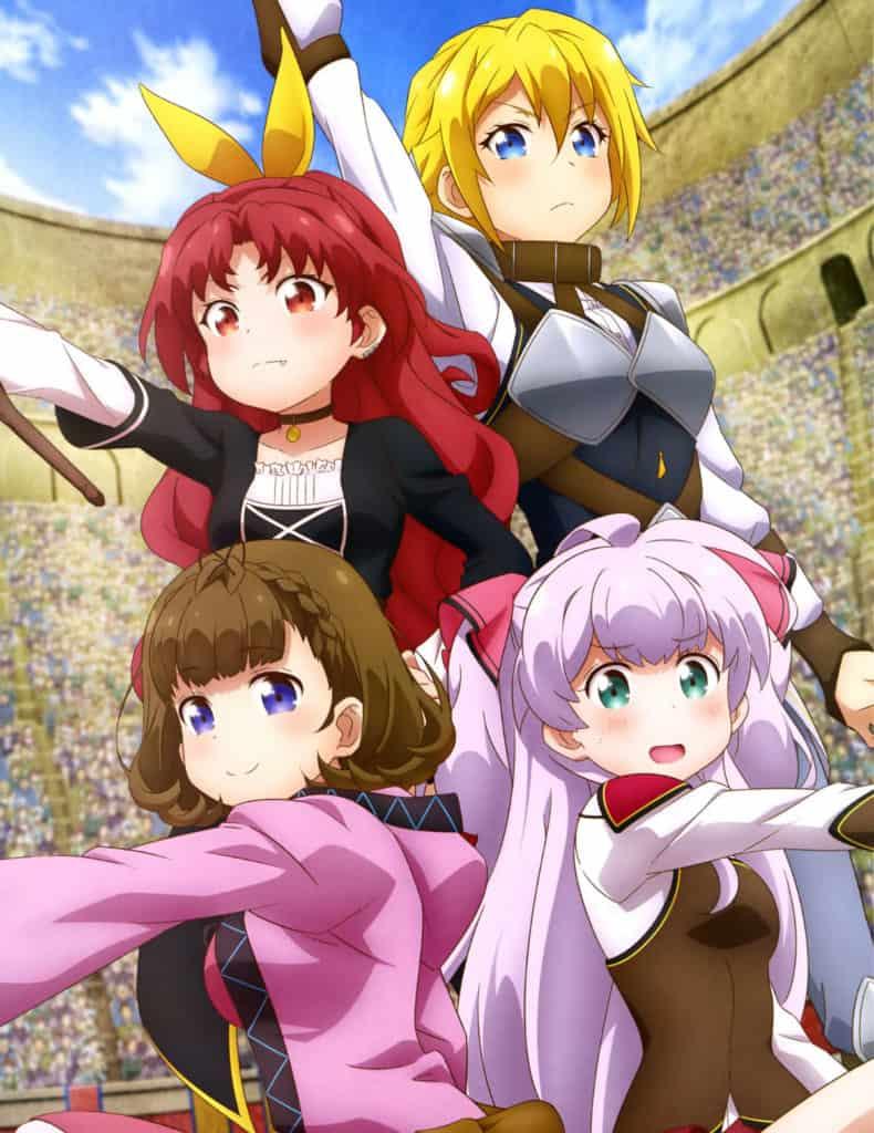Watashi Nouryoku wa Heikinchi de tte Itta yo ne Anime Girl Characters Crimson Vow