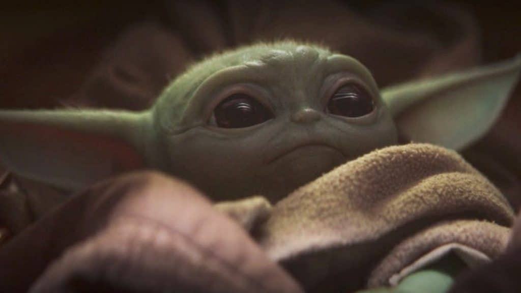 'Baby Yoda' in The Mandalorian