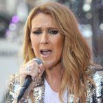 singer celine dion performs on NBC Today Show in New York City