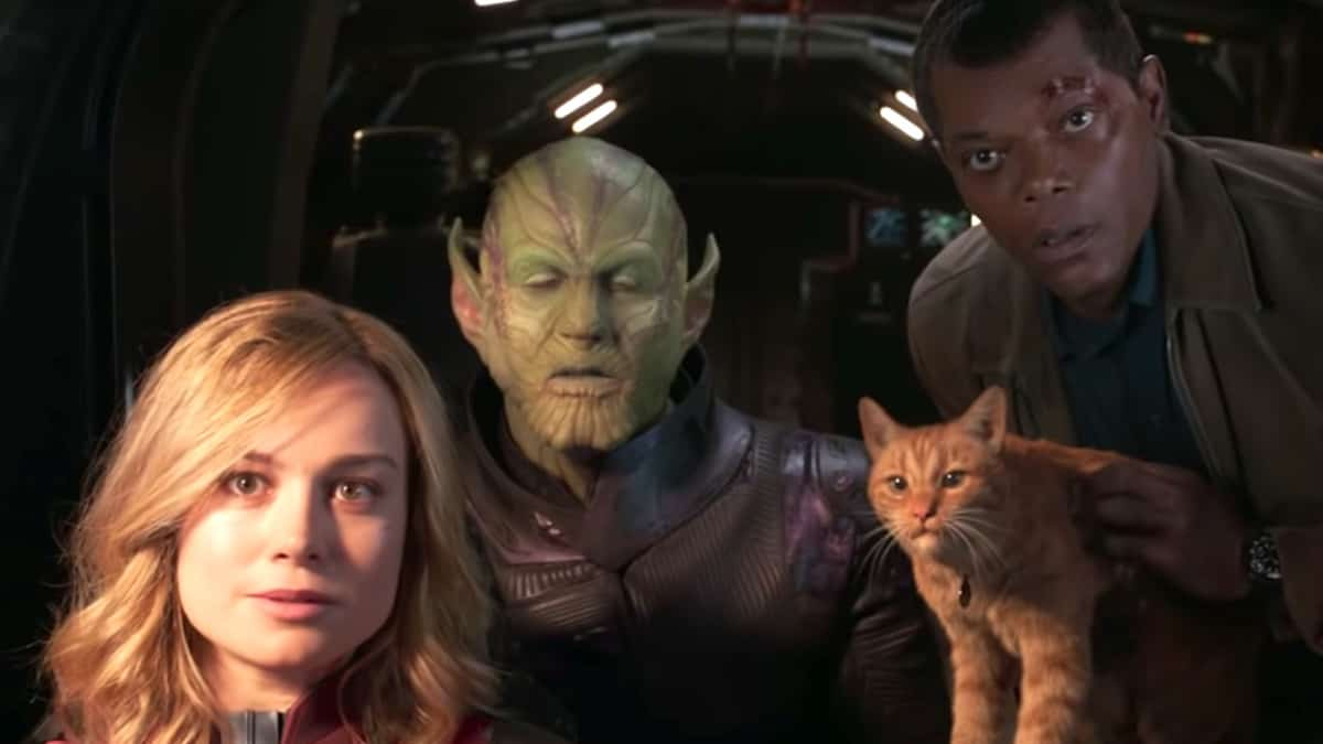 captain marvel will be part of disney plus streaming