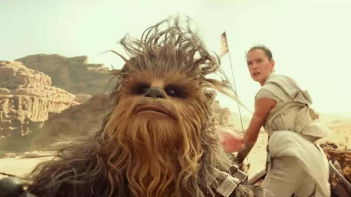 new star wars rise of skywalker movie clip shows flying stormtroopers