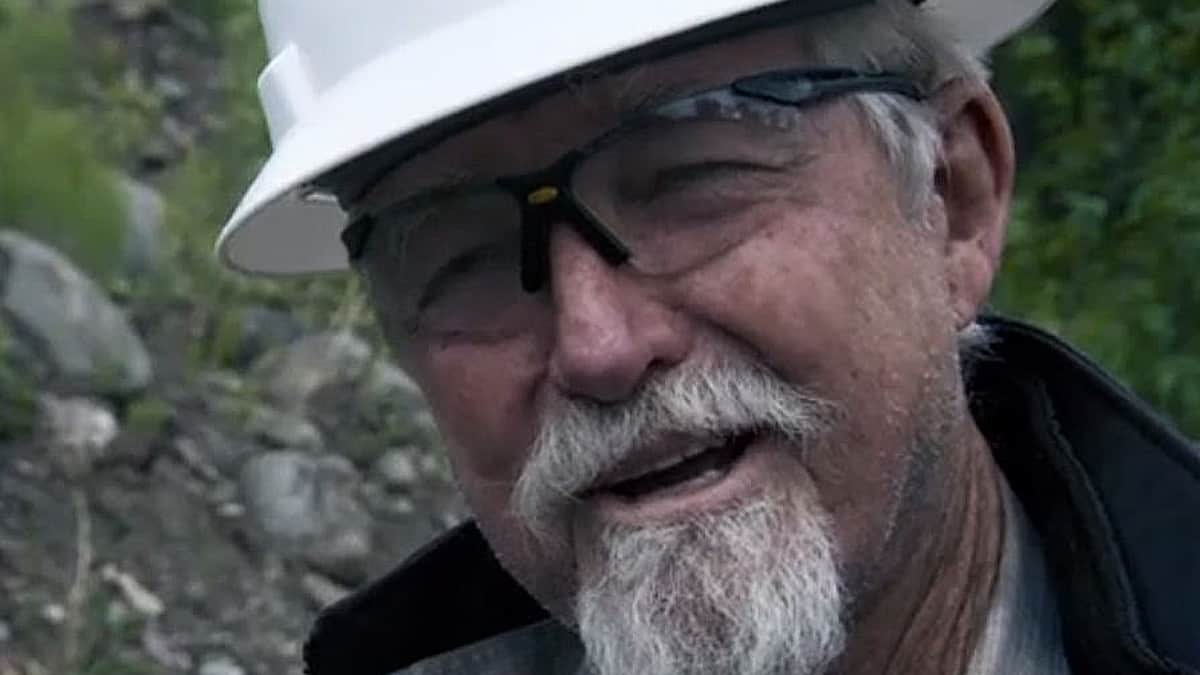 Dakota Fred Hurt is 76 years old and can kick your butt easily, his season on Gold Rush: White Water is a gobsmacker of gold hauls. Pic credit: Discovery