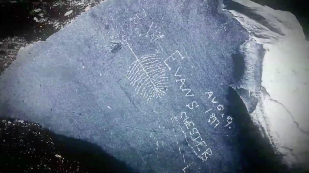 Stone carving found on Oak Island last year