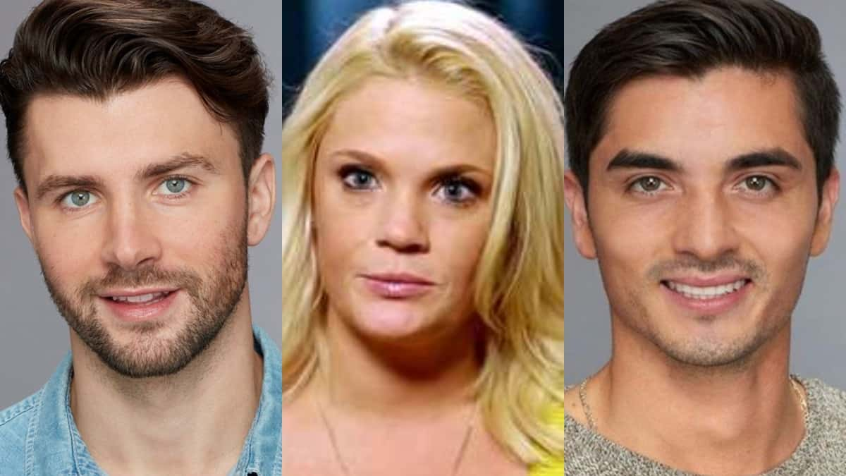 Kamil from Bachelor in Paradise, Ashley Martson and Christian Estrada from Bachelor in Paradise