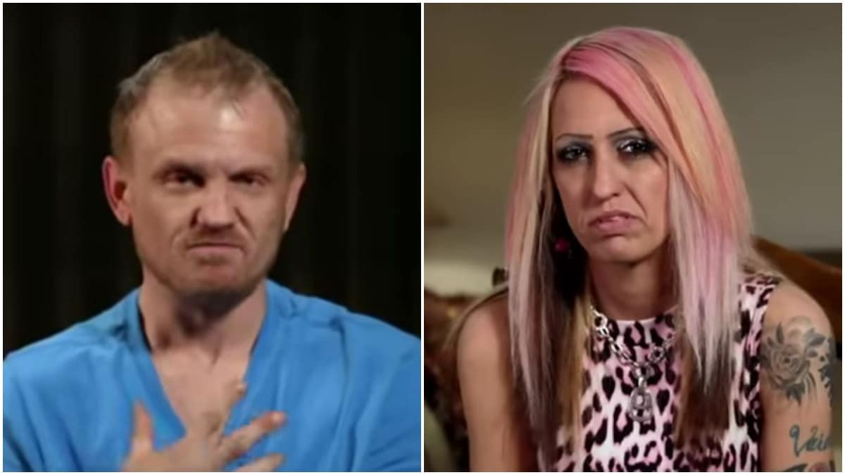 Clint and Tracie confessional photos from Life After Lockup.
