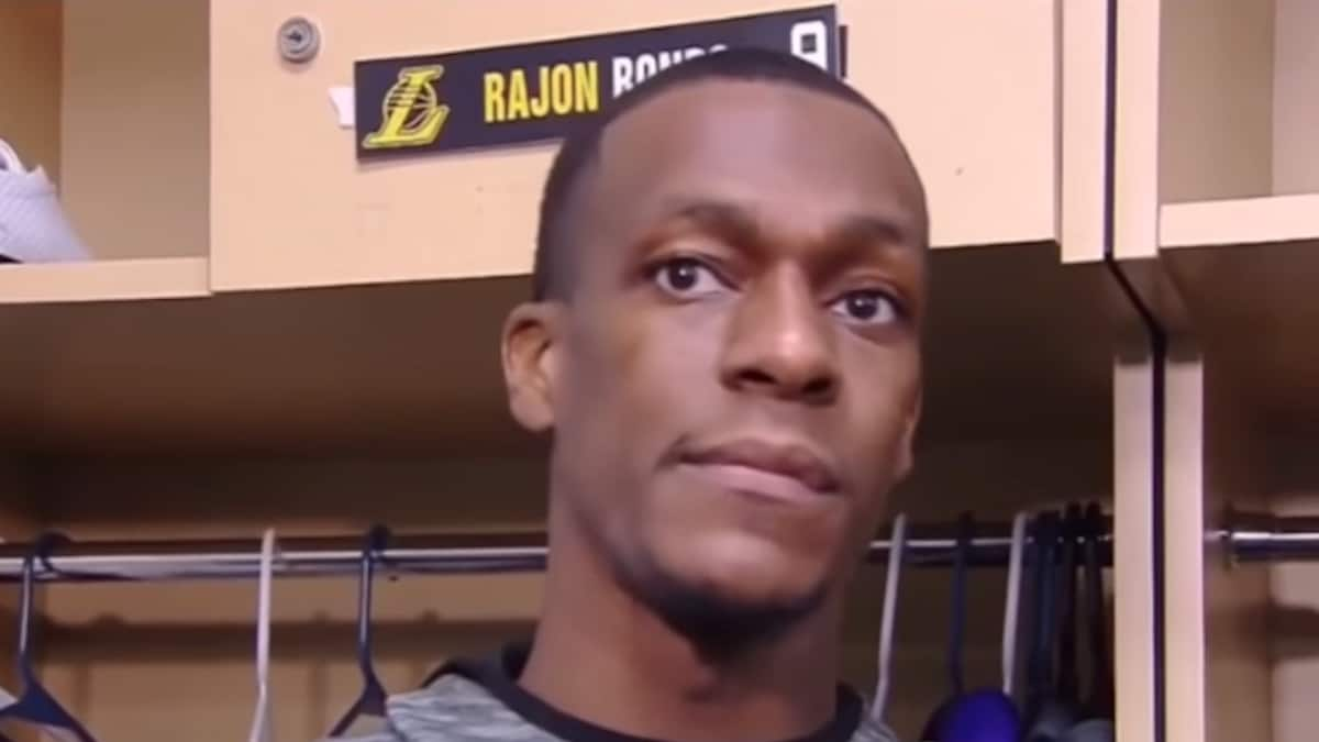 rajon rondo reacts to ejection fine for okc game