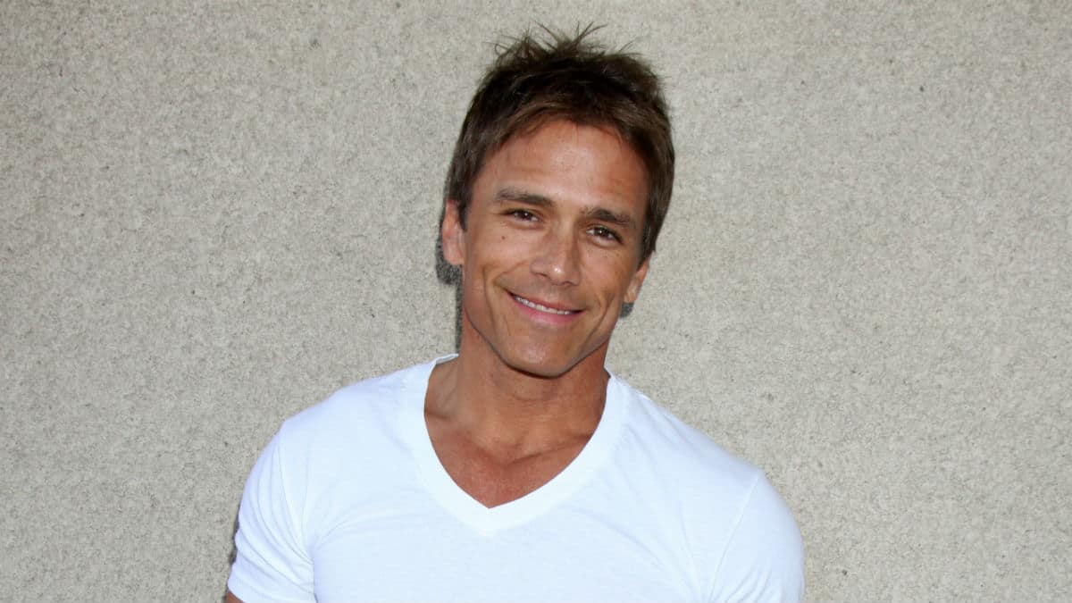 Scott Reeves at a General Hospital event.