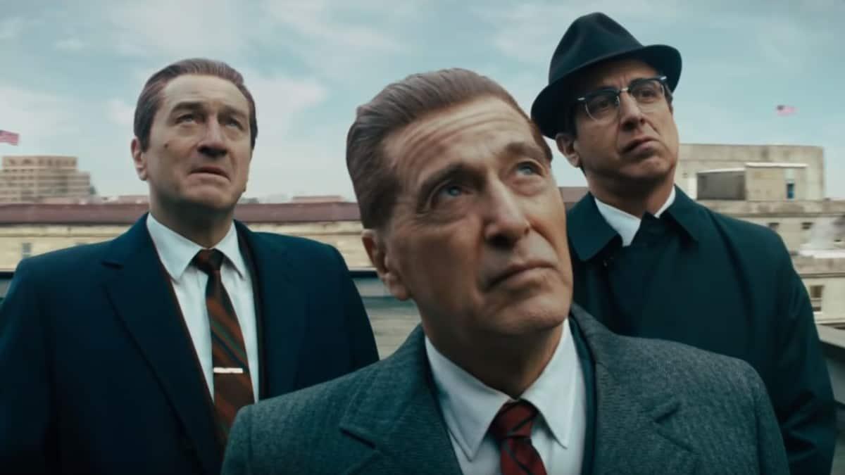 Actors Al Pacino, Robert De Niro, and Ray Romano