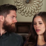 Ben and Jessa Seewald during a Counting On confessional.