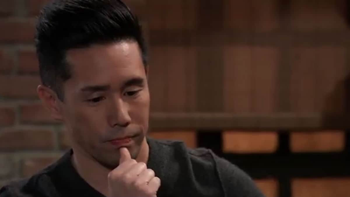 Parry Shen as Brad Cooper on General Hospital.