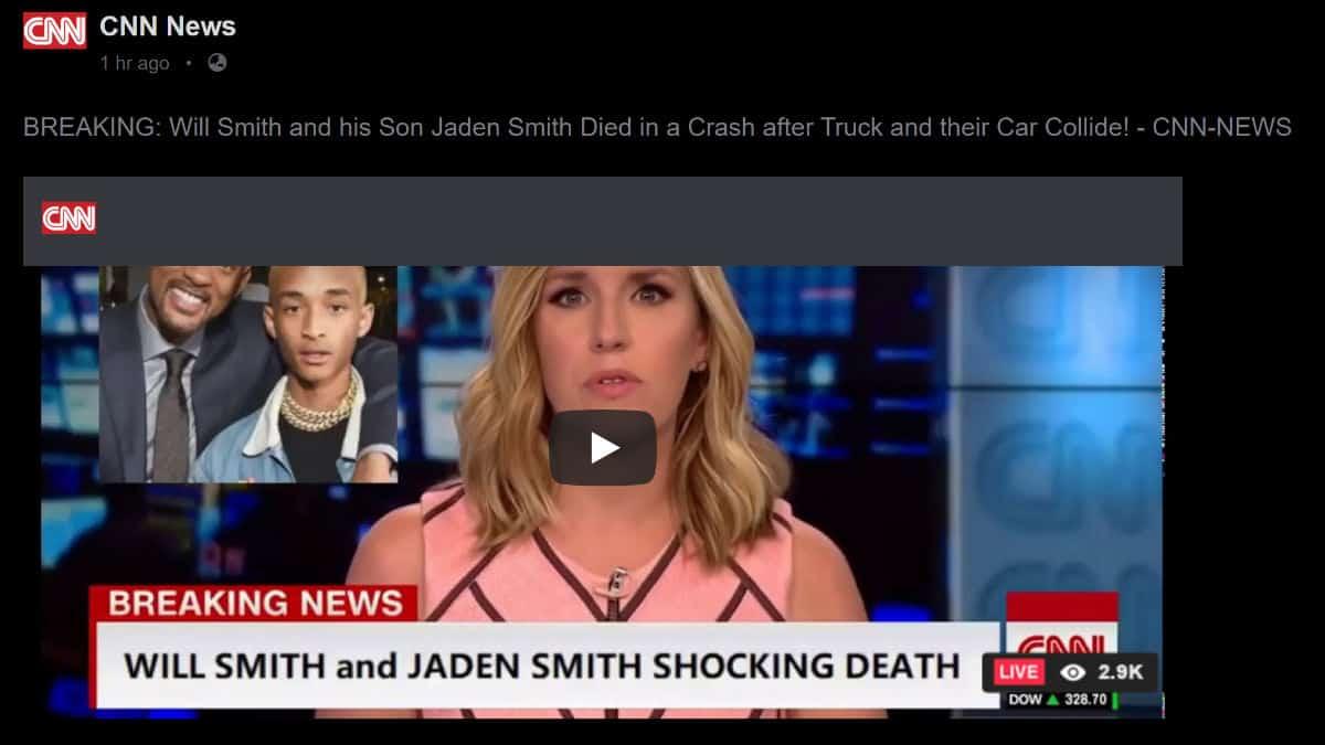 Will Smith death hoax