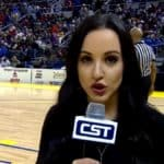 Sports reporter Carley McCord