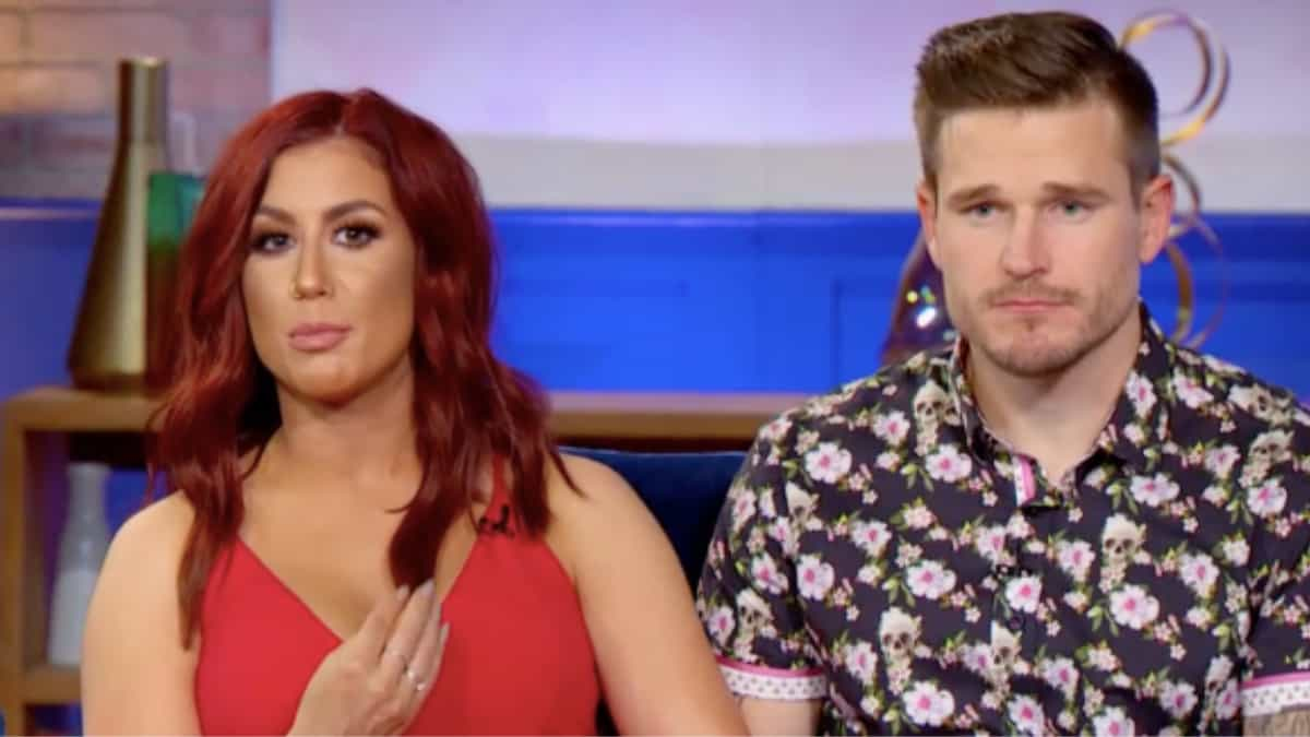 Chelsea and Cole at the Teen Mom 2 reunion