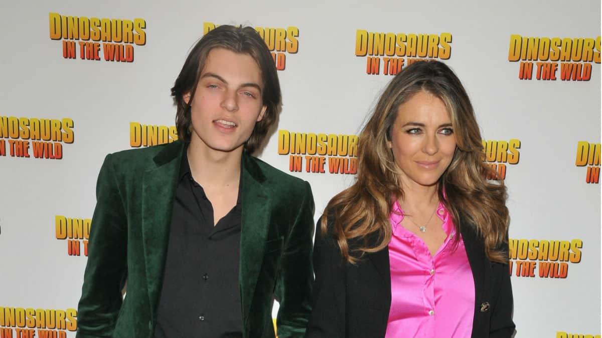 Damian Hurley is teen model son of Elizabeth Hurley.