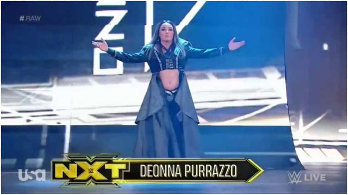 Who is Deonna Purrazzo, Asuka's opponent on WWE Monday Night Raw?